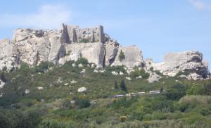 Chateau at Les Baux