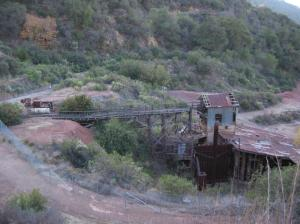 Old mine building