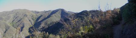 Montecito Peak Panorama