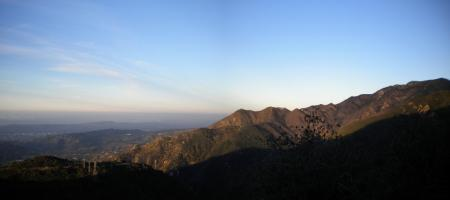 Morning Mountain Panorama