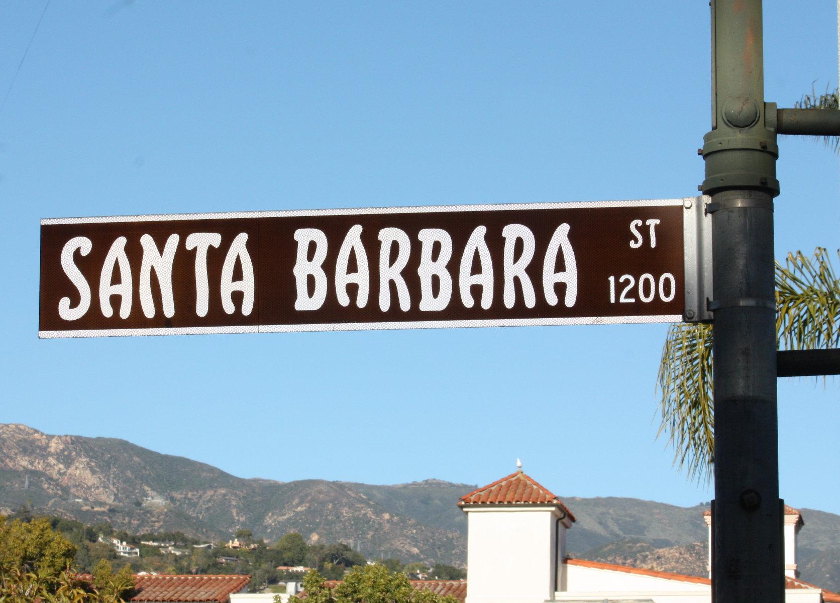 Santa Barbara Streets | George's Meanderings