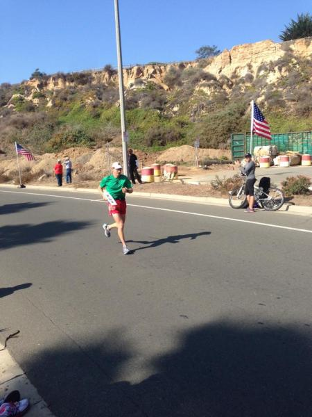 All alone for the last half mile. Photo by Kathleen Formidoni