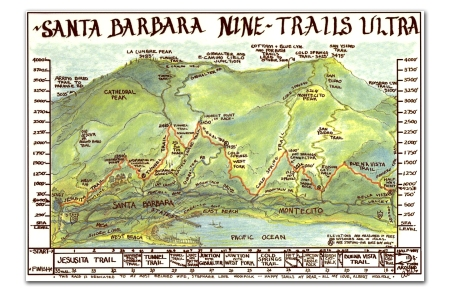 Nine Trails Map