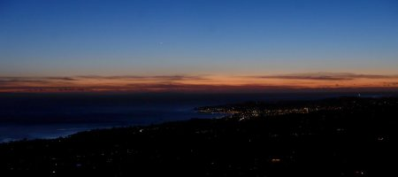 Romero Sunset Panorama